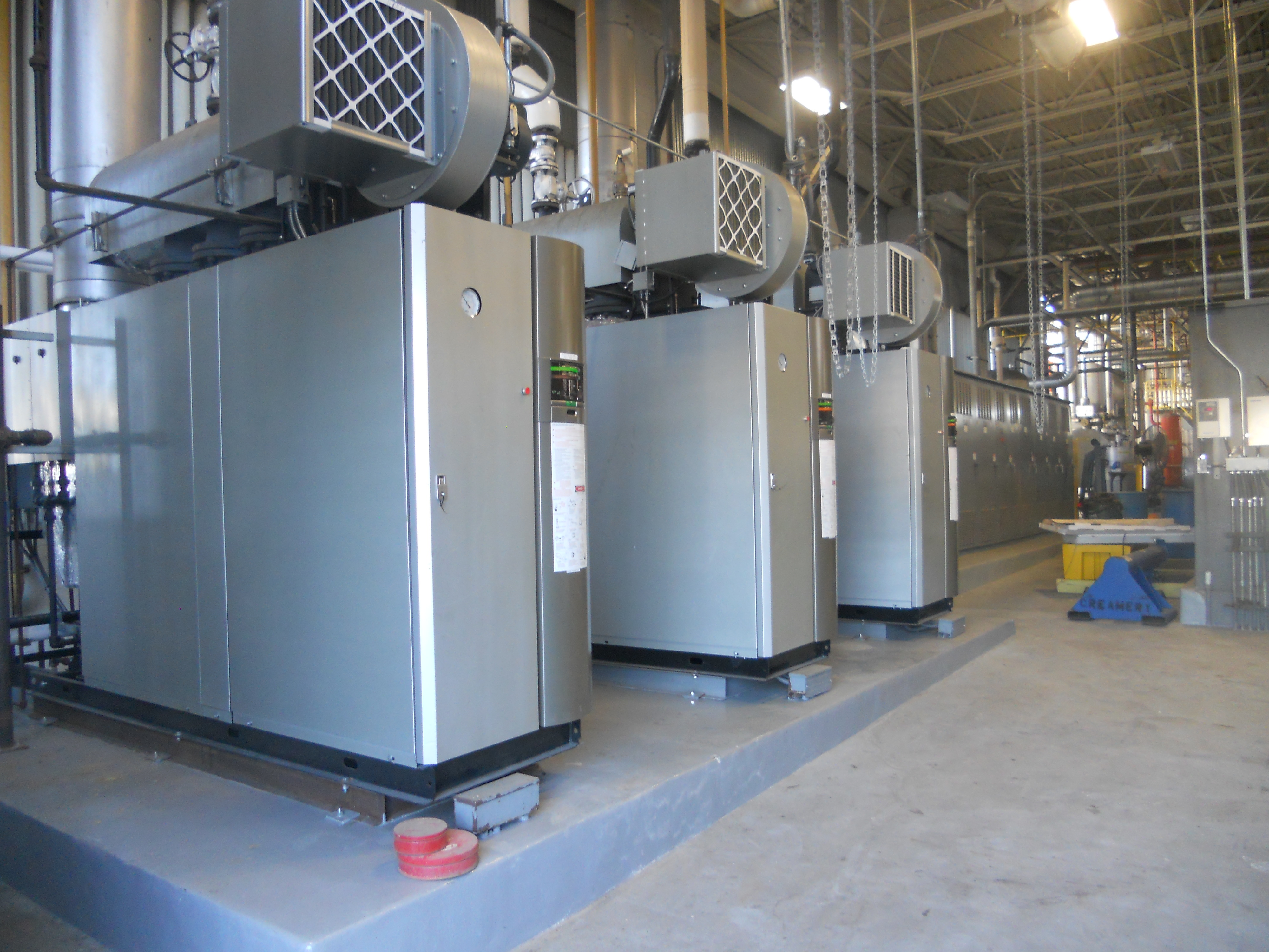 New Boiler Installations for Office Building, Mill and Food ...