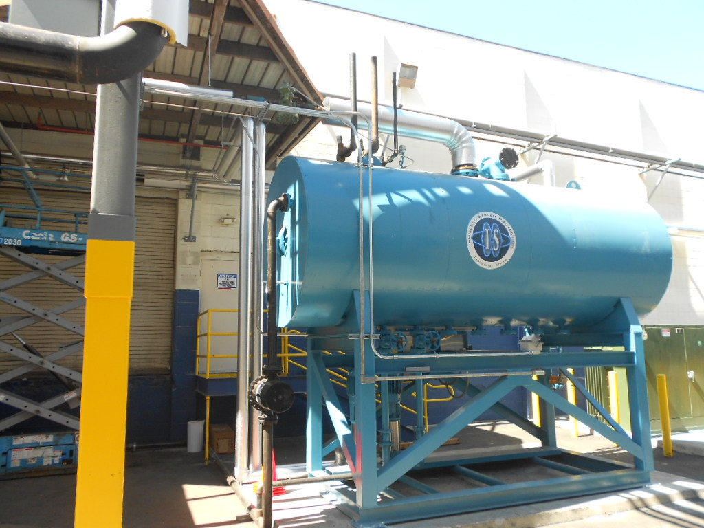 New Surge Tank and Deaerator Feedwater Tank at O.C. Plant | Porter ...